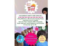 Children's Party Candy Floss Machine Hire Leeds Special Offer