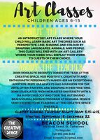 Drama and Art Classes for Kids Age 4-15