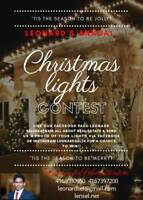 WIN A GIFT CARD !! Send us a photo of your Christmas lights!