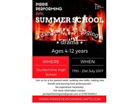 Pirrie Performing Arts Summer School.