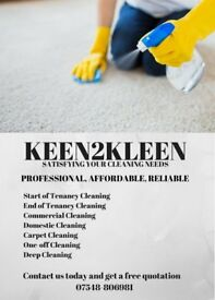 Domestic Cleaners/End of Tenancy Cleans/Moving in Cleans/Deep Cleans/One-off Cleans Call Today!!