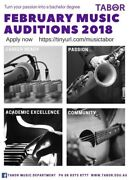 Auditions for Music Study  Wayville Unley Area Preview