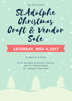 St. Adolphe Christmas Craft and Vendor Sale