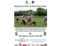 Football Trials - Pathway to Pro & Semi-Pro Clubs