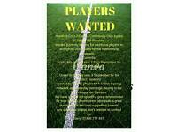 PLAYER WANTED Romford colts fc under 12's & 9's