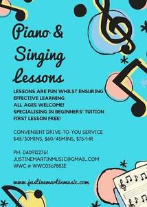 Piano & Singing Lessons & Music Tuition Petersham Marrickville Area Preview