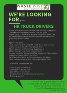 HR Drivers