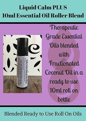 Liquid Calm Plus 10Ml Roller Blend  Blended Therapeutic Essential Oils B3g1