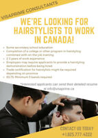 LMIA Available for HAIRSTYLIST position