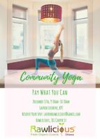 Pay What You Can Yoga