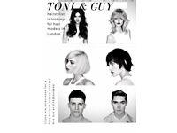 FREE HAIRCUT TONI&GUY