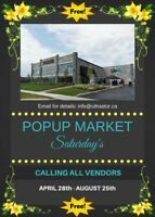 FREE POPUP MARKET - VENDORS WANTED - BURLINGTON