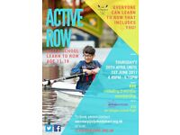 Active Row (11-16 year olds)