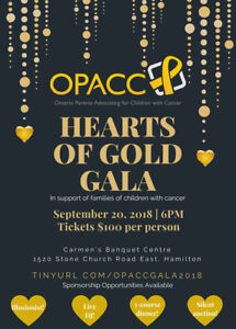 Charity gala to support families of kids with cancer
