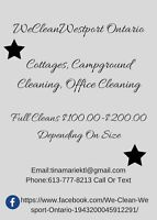 Cottage And Trailers Cleaners Available