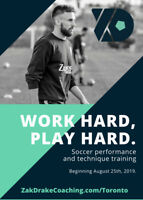 Professional Private Individual/Small Group Soccer Training