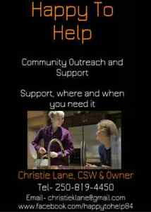 how to become a community support worker