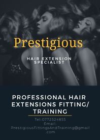 Hair extensions fittings and training - Start you new career earn upto £1000 per week