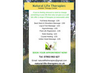 Feel Better Fast – Book A Relaxing Massage Or Hypnotherapy Session In Calderdale Now!