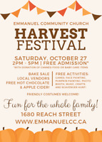 Harvest Festival - Fall Family Fun - Port Perry