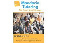 Mandarin Small Group Tutoring - Adults Beginner