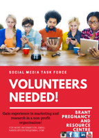 Marketing and Research Volunteers Needed!