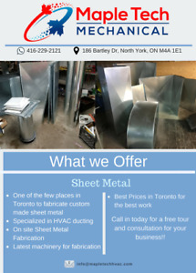 HVAC SHEET METAL