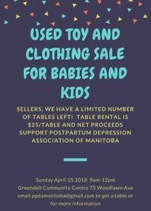 Looking for vendors to sell used baby and kids items!!!