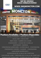 The Moncton Events Centre is Hiring!