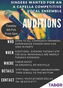 Singers wanted Wayville Unley Area Preview