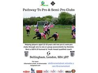 Football Trials - Pathway to Pro & Semi Pro Clubs