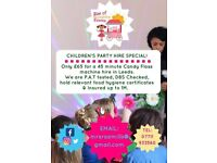 Candyfloss kids party hire special offer