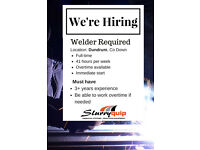 Welders Required