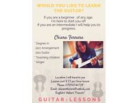 Guitar Lessons (All ages)