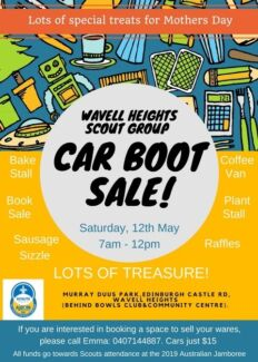 Car Boot Sale - Wavell Heights