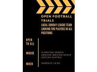 Open football trials !!!