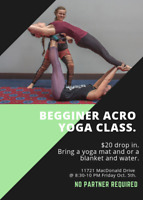 All Levels Acro Yoga Class