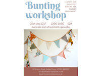Bunting Craft Class