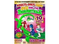2 x Tickets to Adult Panto Jack and the Beanstalk - Gala Black Tie Opening