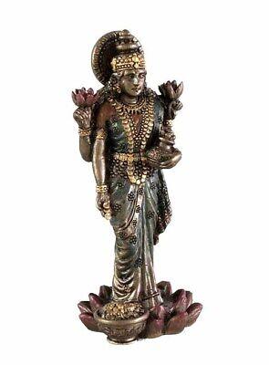 Lakshmi Hindu Goddess of Good Fortune Miniature (3301) Figurine NEW in Box