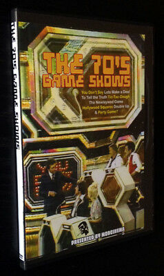 70S Game Shows  Vol 1 2 Disc Dvd Newleywed Game Hollywood Squares Tic Tac Dough