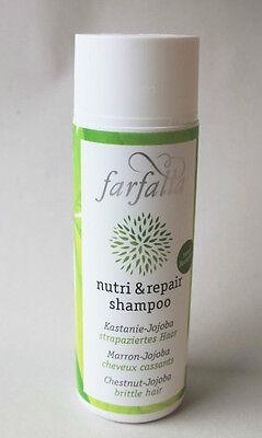 (4,90€/100ml) Farfalla Nutri & Repair Shampoo für strapaziertes Haar 200 ml