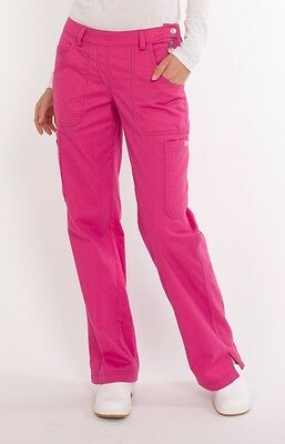NEW WOMEN KOI SARA TALL PETITE MULTI POCKET CARGO SCRUB PANTS NURSING -