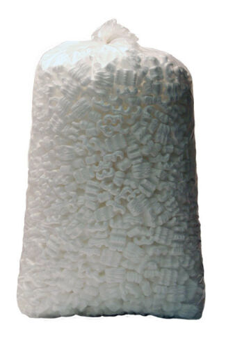 LOT OF 5 Bags Free Shipping Loose Fill Packing Peanuts, 20 Cubic Feet 150 Gallon
