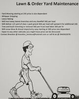 Lawn & Order Yard Maintenance