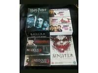 DVD BOX SETS AND MOVIES JOB LOT HARRY POTTER