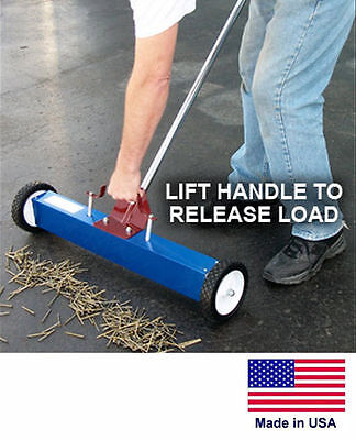 Magnetic Sweeper Commercialindustrial - 30 Cleaning Path - With Load Release
