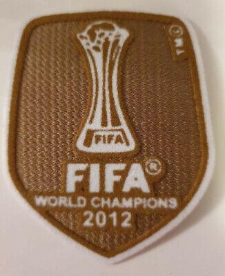 FIFA World Cup Champions 2012 / KLUB WM Patch / Club WM Patch 2012 gebraucht kaufen  Wermelskirchen