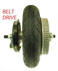 Razor E200 Scooter Rear Wheel Assembly Belt Drive Tire