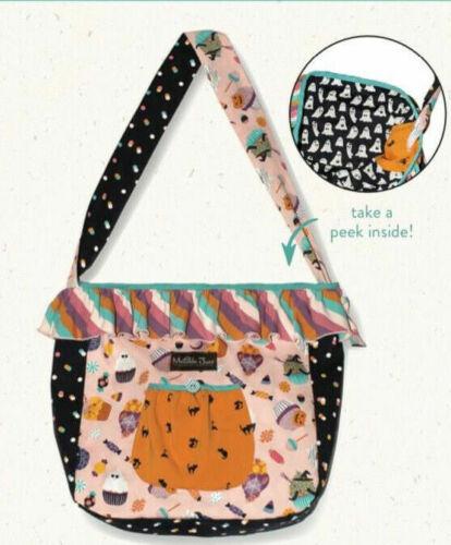 Matilda Jane Wonderment No Tricks Halloween Treat Bag Fall 2020 Reversible NWT